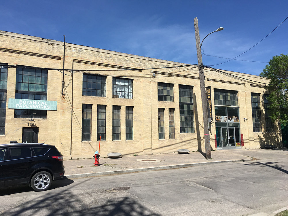 111 Pacific Ave in Winnipeg's Exchange District