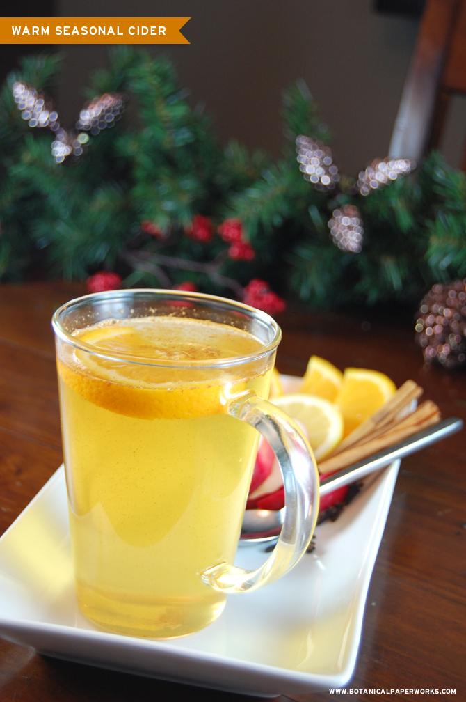 Botanical PaperWorks Ultimate Holiday Drink Guide - 12 Weeks of Christmas