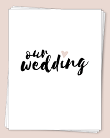 This Wedding Planning Binder includes a collection of free printables made to get you started on the right track. It also comes with three color options so you can pick your favorite one.