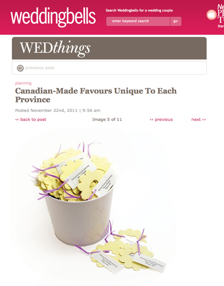 Botanical PaperWorks on Wedding Bells