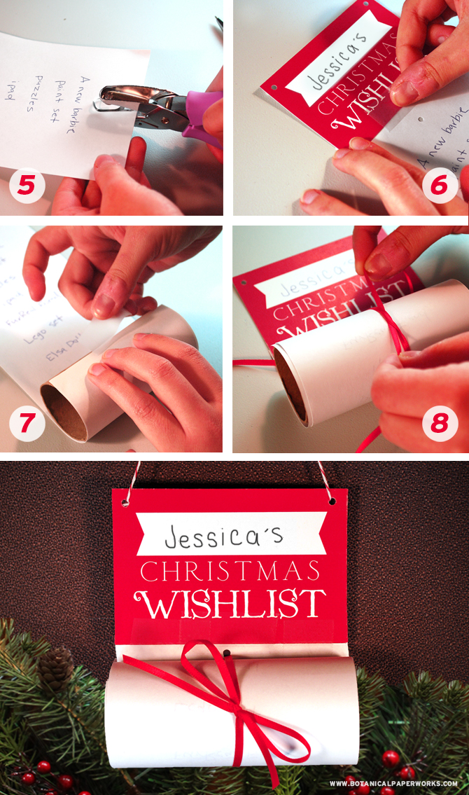 How sweet is this Upcycled Christmas Wish List craft? Find out how to make your own with your kids!