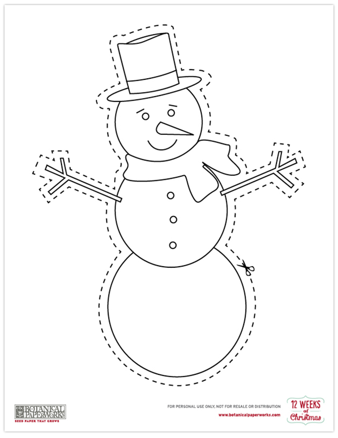 Kids will love coloring this FREE Frosty the Snowman Printable!