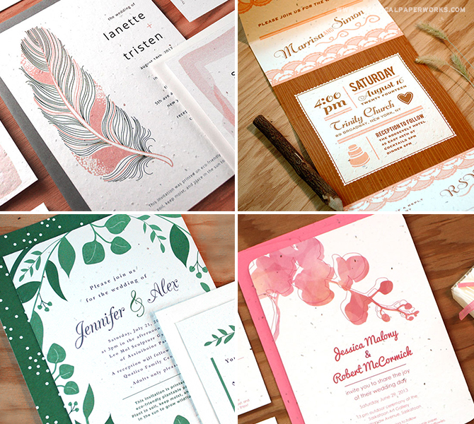 From trends like gorgeous greenery to romantic watercolor and everything in between, you're sure to find the perfect pieces to fit within your chosen wedding style.
