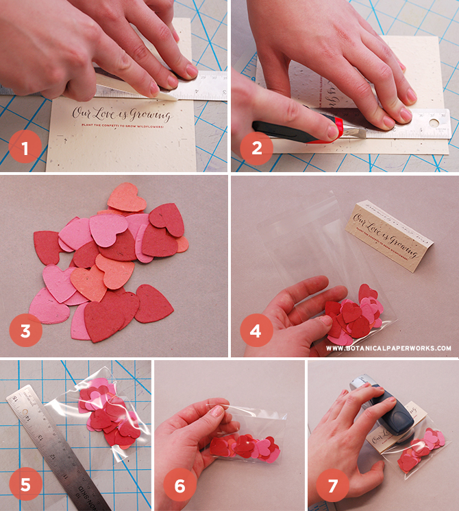Love this eco-friendly wedding favor DIY! Look how easy it is to make too.