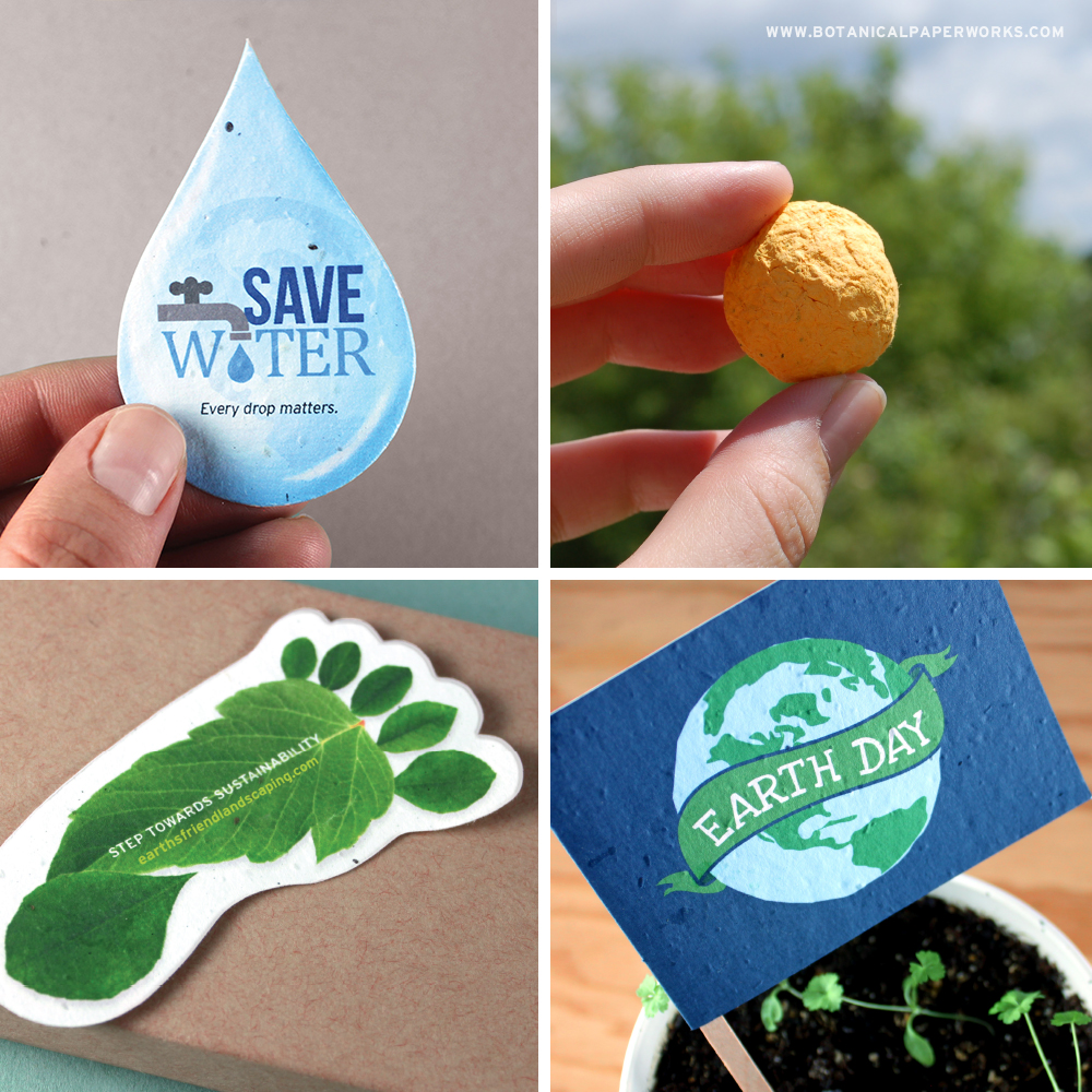 Let's PLANT for the PLANET this Earth Day! Take a look at this Promotional Products Idea Book that will help you GROW some ideas for you or your clients this April.