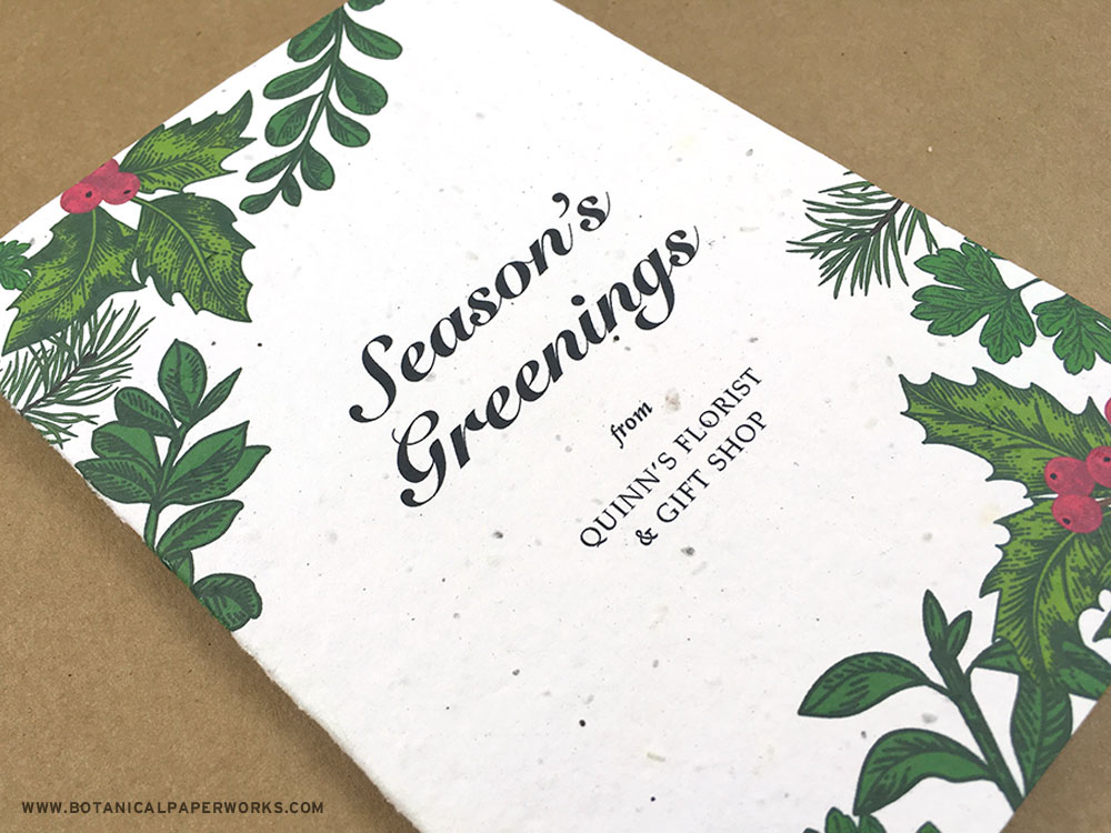 Eco-friendly Business Holiday Cards That Grow & Tips For Sending Them