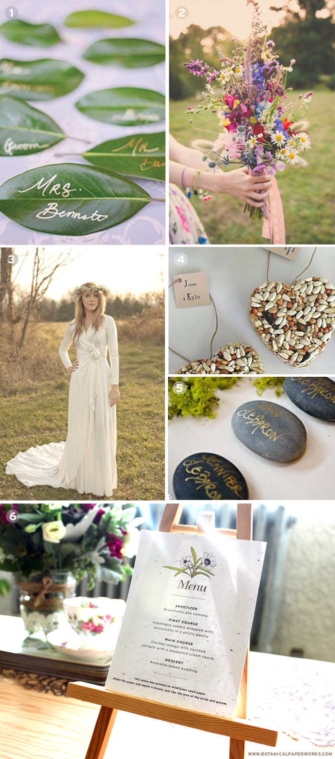 Green wedding ideas that will inspire you to plan the most perfect eco-friendly weddings.