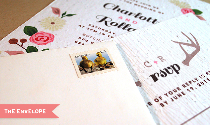 What wedding stationery to include in your envelope.