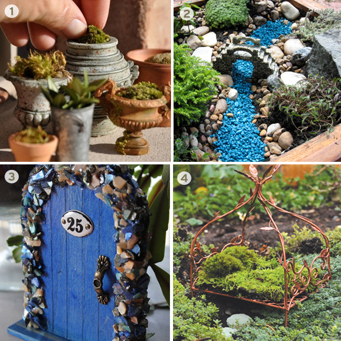 The details are what make a fairy garden truly spectacular as they all come together to spark the imagination and create interest.