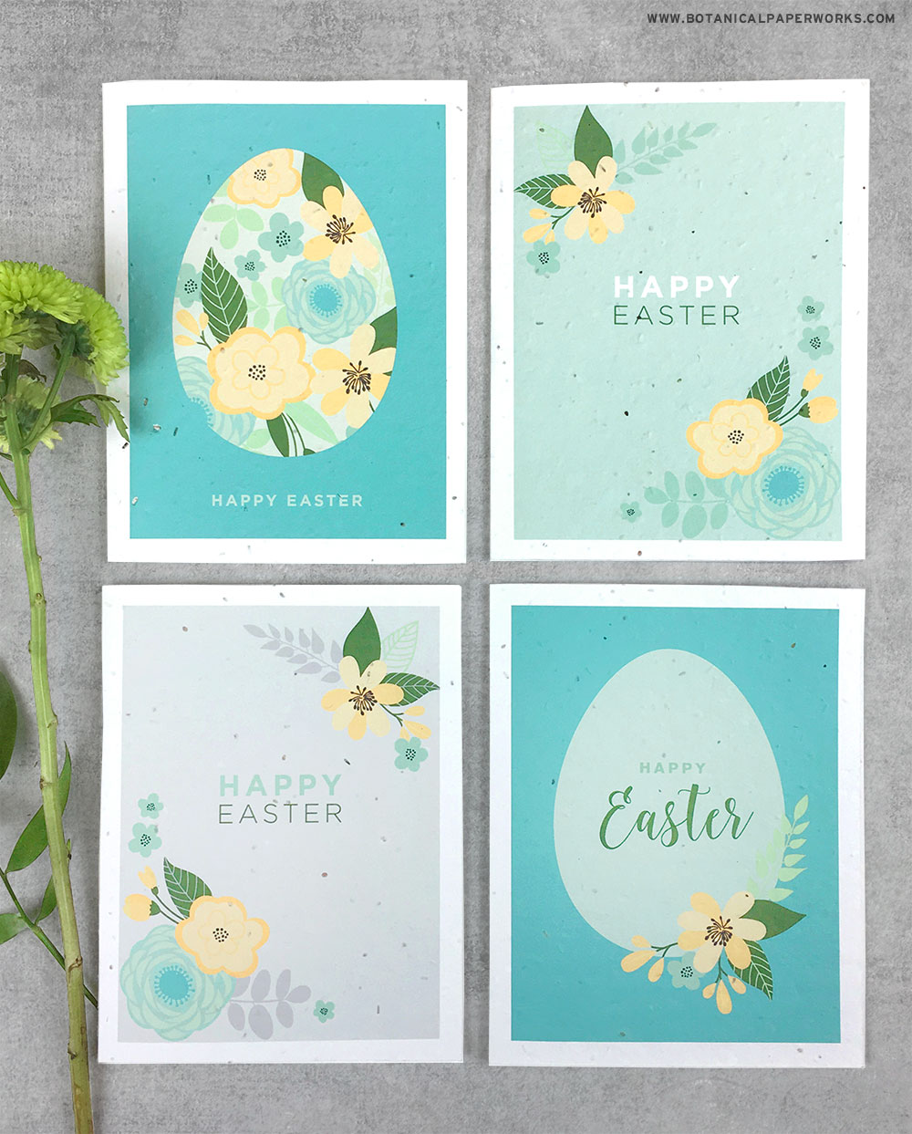 Download and print these stylish Easter Cards at home to share greetings with all your friends and family for free.