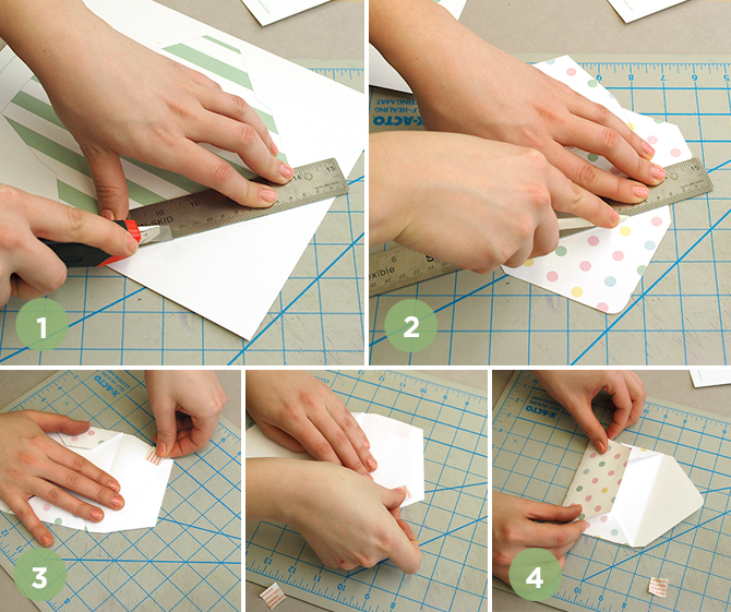 How to make these printable Easter treat envelopes, so cute!