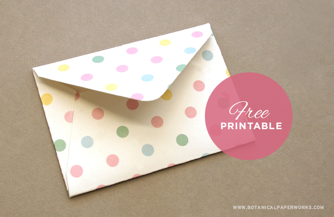 Free printable Easter treat envelopes, so cute!