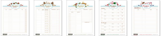 Free 2021 Easy Printable Christmas Organizer Free Printables Get Organized With These Christmas Planner Pages Botanical Paperworks