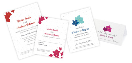 Botanical PaperWorks Plantable Wedding Collections: Modern Duo and Petit Garden