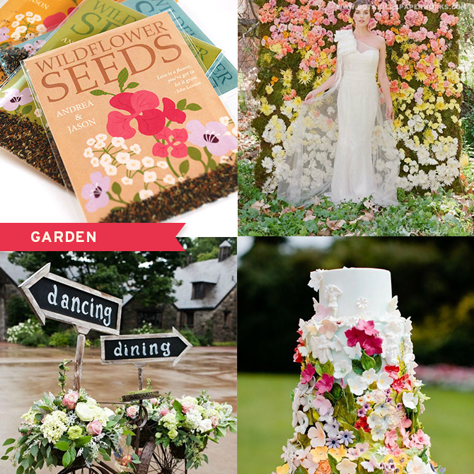 Match the perfect #weddingfavors for your #garden-inspired wedding! These eco-friendly options will grow when planted and leave NO waste behind!