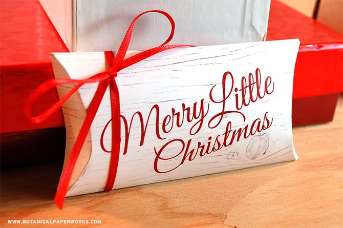 Take a creative and eco-friendly approach to gift-wrapping with these FREE Pillow Box Gift Boxes Printables.
