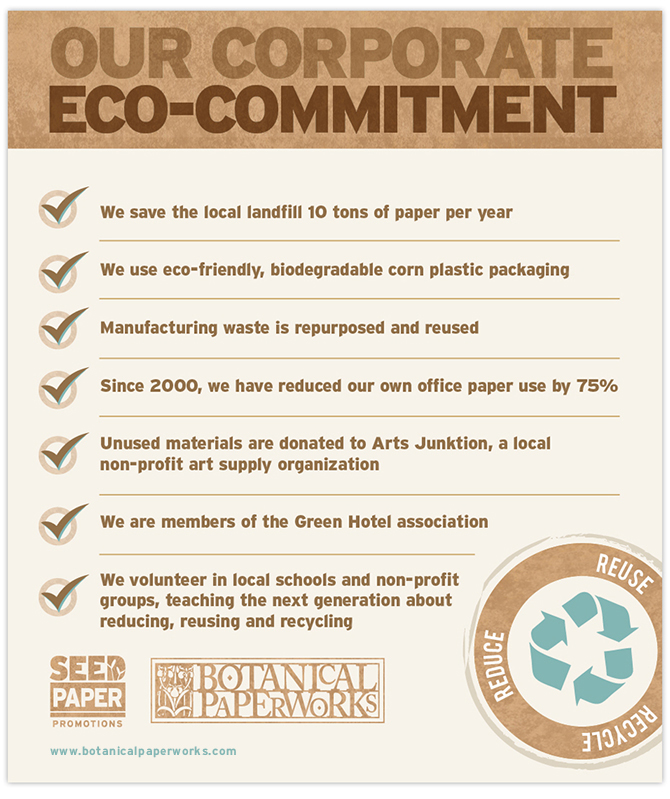 Our Corporate Eco-Commitment