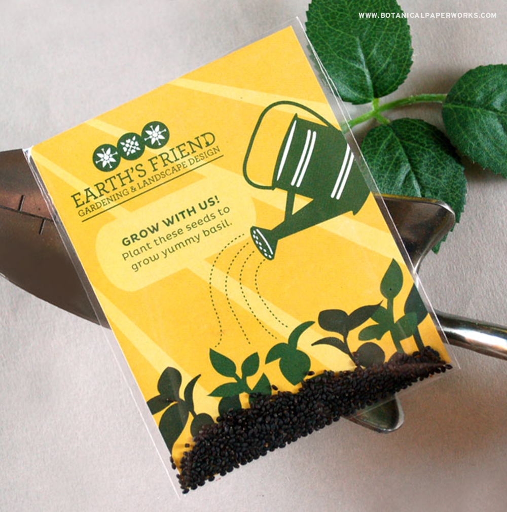 Treat your clients to these NEW Herb Seed Packet Promotions!
