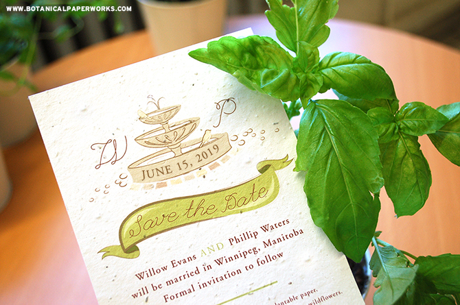 From save the dates to thank you cards and everything in between, #seedpaper wedding stationery is a beautiful way to incorporate plant based elements into your #wedding.