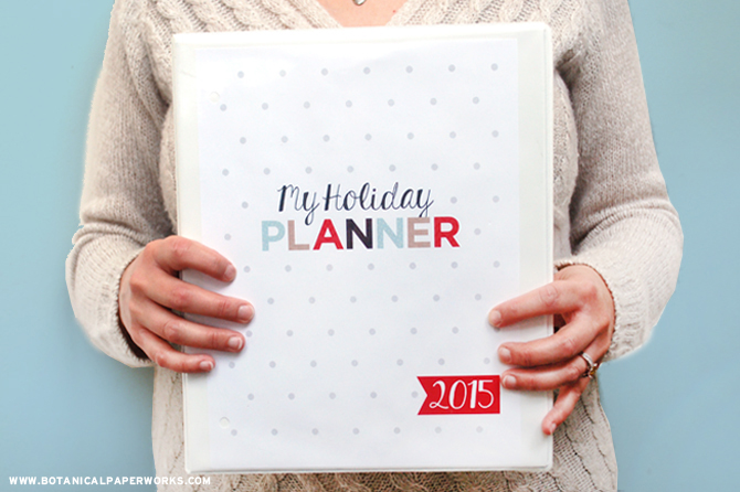 Enjoy these 10 beautifully designed free printables to create your own Ultimate Holiday Planning Binder!