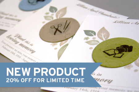 Botanical PaperWorks New Hobby Memorial Collection - Now on Sale!