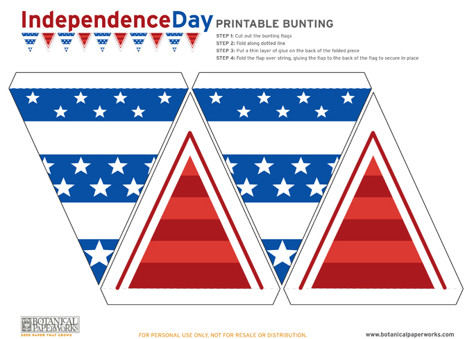 Here is your download file for your adorable Free Independence Day Bunting Printables, Enjoy!