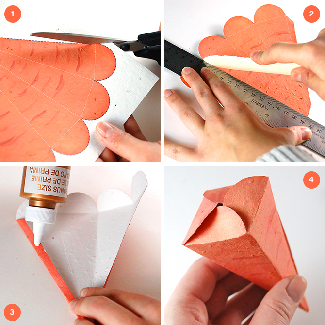 Easy to print, trim and fold, this fun craft is perfect for all skill levels so children will enjoy making them, too. Whether you place them in a traditional Easter basket or display them on the table, recipients will be thrilled when they realize that they can create something special instead of simply tossing them in the trash after.
