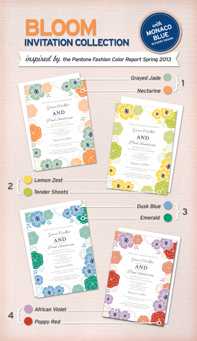 Botanical PaperWorks New Bloom Wedding Collection