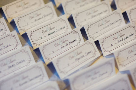 sweet plantable place cards