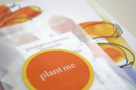 plantable promotional giveaway