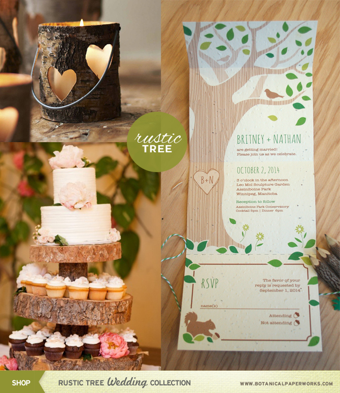 Rustic weddings are still very hot this Fall, here are some of the hottest ideas to help you incorporate it into your big day!