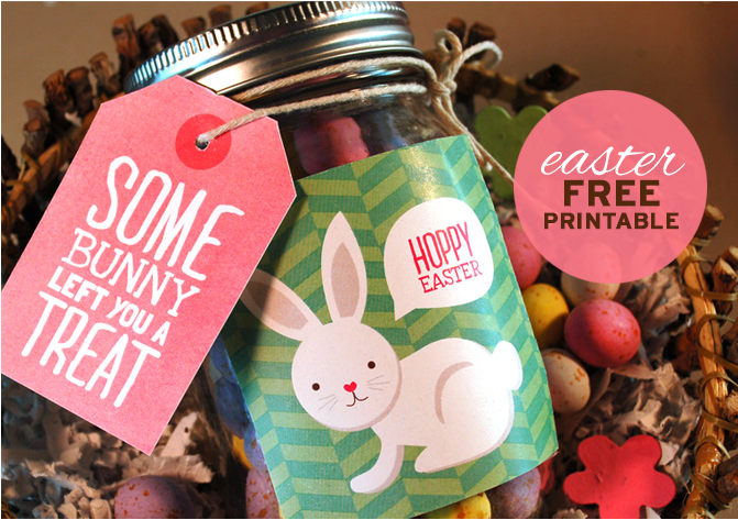 For more fun Easter Printables, check out this post for Treat Tags and Labels!