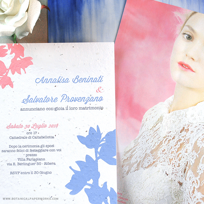 We're passionate about color which is why we created a custom color option for #seedpaper #weddinginvitations. Learn more about it here!