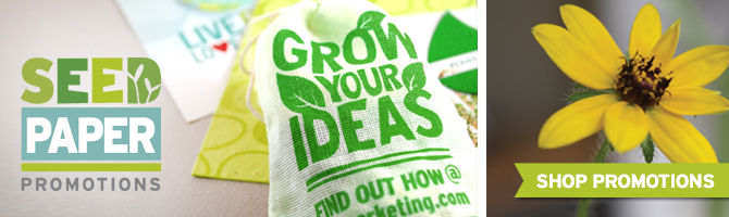 Browse through tons of seed paper promotional products by Botanical PaperWorks for your need creative idea.