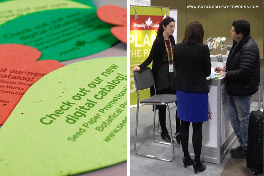 We handed out these colorful shapes at the 2014 PPPC show as a unique way to promote the 2014 catalog.