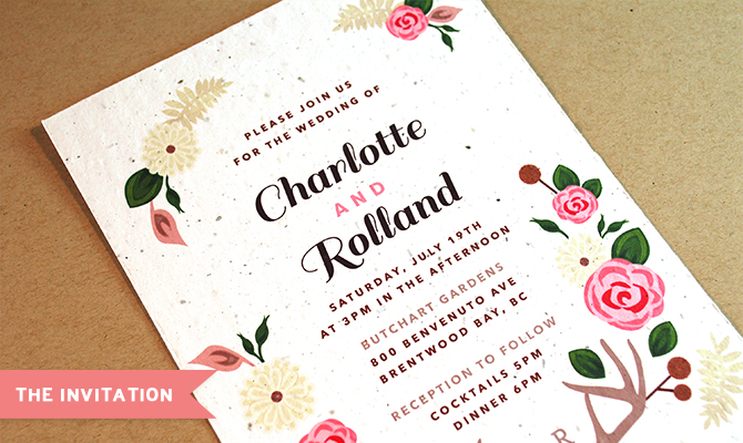 Plantable Wedding Invitations By Botanical PaperWorks