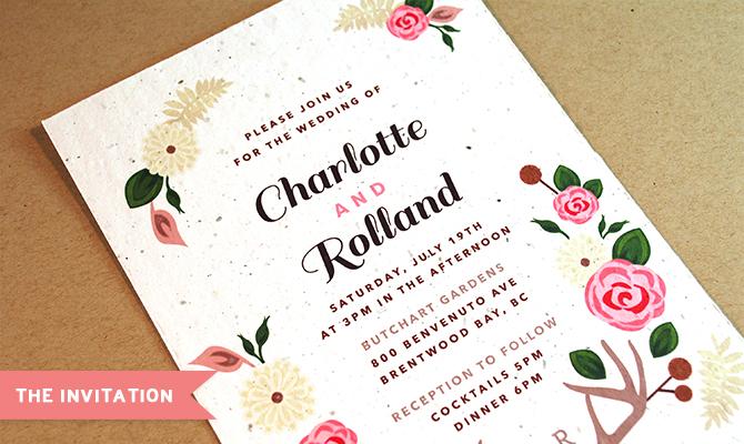Plantable Wedding Invitations By Botanical PaperWorks