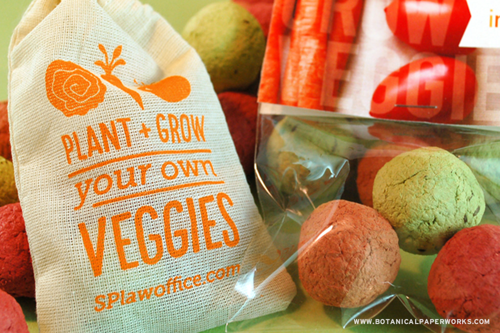 These Veggie Seed Bombs are as delicious as they are fun to grow!
