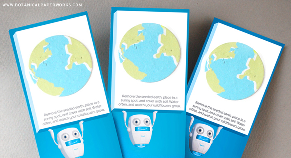 A fun, creative and effective seed paper promotion to convey a message & empower people to take action for Earth Day.