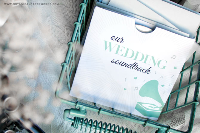 o turn your wedding CD's into a perfectly chic package, download these beautiful free printables in your choice of mint, pink or latte. Easy to assemble, these free printables will turn into a loving memory for guests while savig you money.