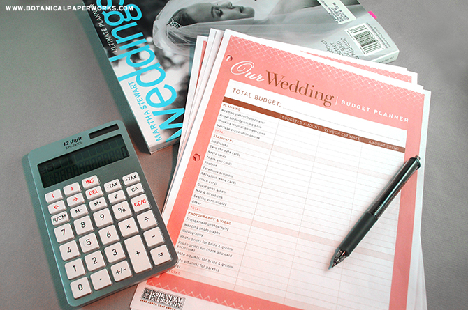 This FREE wedding planning binder includes a budgeter that is the best way to keep track of what you want to spend and where you want to spend it.