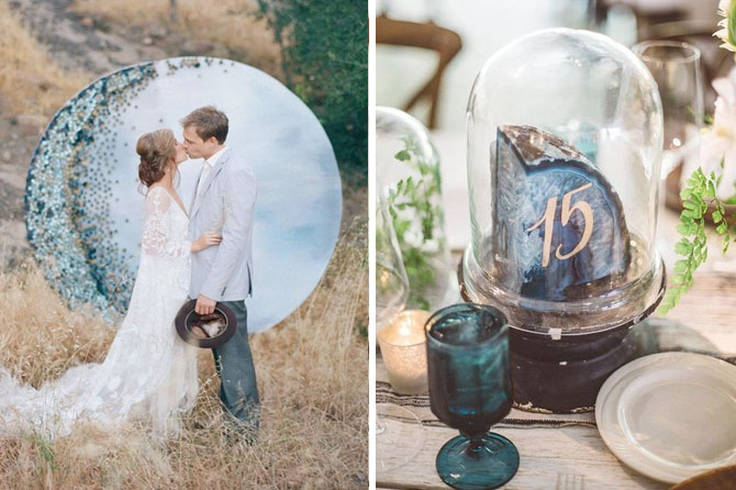 Earthy & ethereal weddings are one of today's top wedding trends found in this inspiration roundup.
