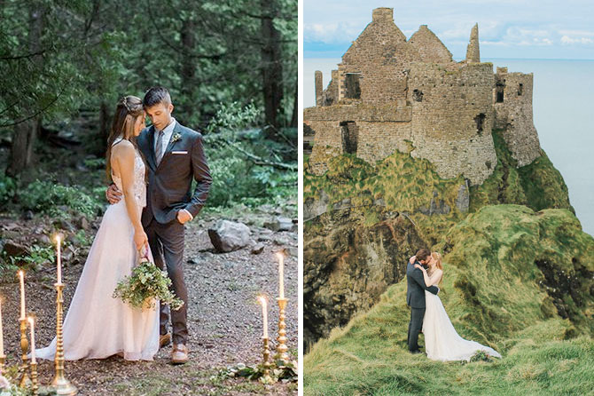 Elopements are one of today's top wedding trends found in this inspiration roundup.