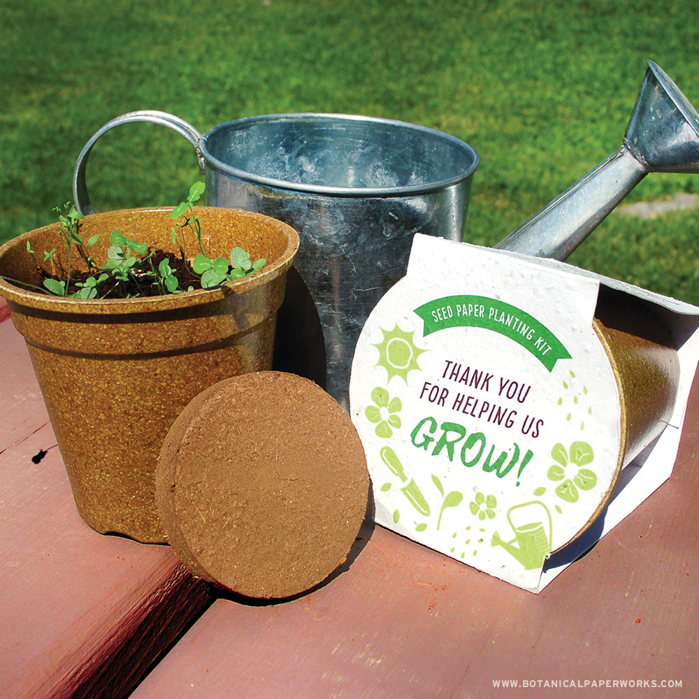 plantable seed paper grow kits