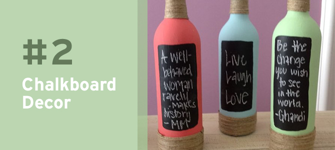 Find inspiration for using your leftover #wine bottle with these 10 wine bottle #upcycle ideas!