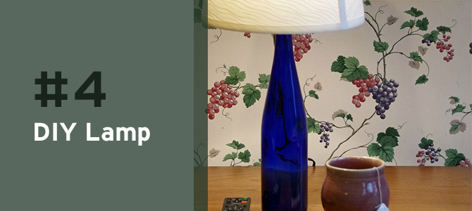 Take a look at this round-up of 10 #wine bottle #upcycle ideas. #recycle #ecofriendly