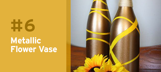 Get inspiration for using your old #recycled wine bottles with these 10 wine bottle #upcycle ideas.