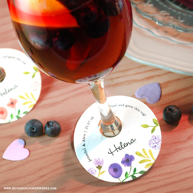 Summer weddings are just around the corner and it's the perfect time to decide on special touches for your decor. To make yours extra special and eco-friendly, we're pleased to introduce NEW Plantable Wedding Favors that act as place cards, wedding favors and wine markers all in one! #weddings #brides #plantableweddingfavors #wine #ecofriendlywedding
