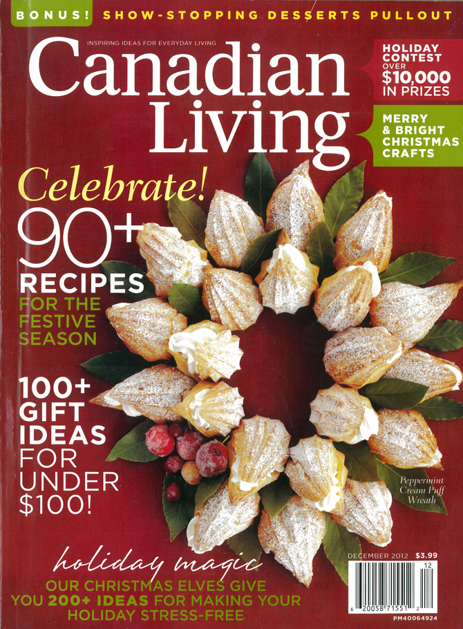 Botanical PaperWorks Featured in Canadian Living Editor's Pick