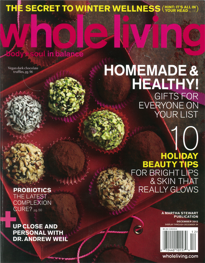 Botanical PaperWorks Is Featured in Whole Living Magazine's Gift Guide